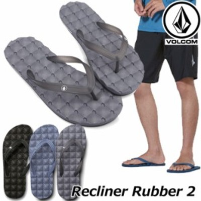 volcom ボルコム メンズ ビーチサンダル Recliner Rubber 2 V0811882 【返品種別OUTLET】