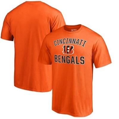 ベンガルズ Tシャツ NFL 半袖 メンズ カットソー オレンジ シンシナティ
