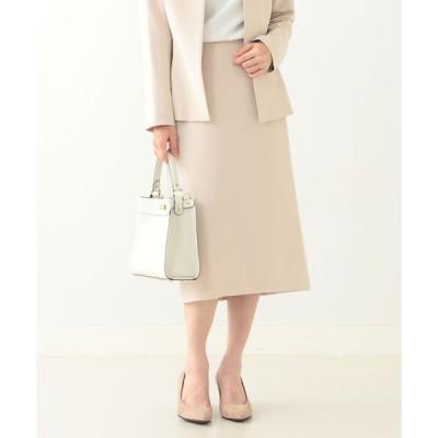 スカート Demi-Luxe BEAMS / トリアセ タイトスカート 21FO