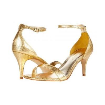 Lilly Pulitzer リリーピューリッツァー レディース 女性用 シューズ 靴 ヒール Natalie Sandal - Gold Metallic
