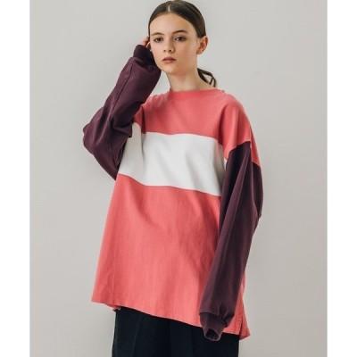 tシャツ Tシャツ 【THE SHINZONE】ブロック ラガーTシャツ WOMEN