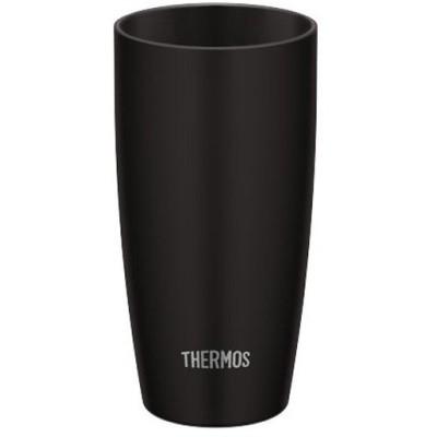 サーモス 真空断熱タンブラー 0.42L ブラック JDM-420 BK ( 1個 )/ サーモス(THERMOS)
