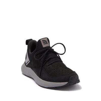 ノースフェイス メンズ スニーカー シューズ Surge Highgate LS Sneaker TNFBLK/Q-SLVRGR