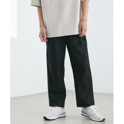 Loungewear tokyo / 麻レーヨンリラックスルーズシルエット スラッシュポケットラウンジアンクルテーパードワイドイージーパンツ MEN パンツ > スラックス