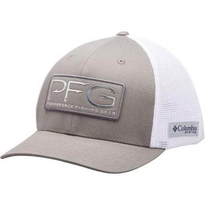コロンビア 帽子 アクセサリー メンズ Columbia Men's PFG Mesh Hooks Ball Cap Titanium/Silver