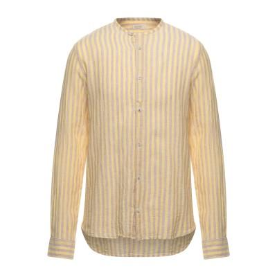 SSEINSE シャツ イエロー XL リネン 60% / コットン 40% シャツ