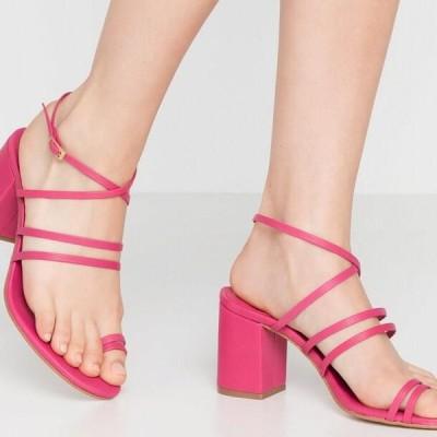 アロハズ レディース サンダル MOCHI - High heeled sandals - strawberry
