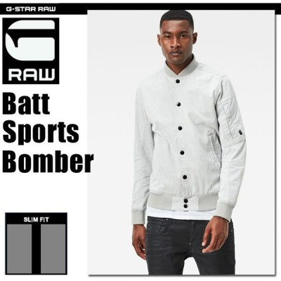 G-STAR RAW (ジースターロゥ) Batt Sports Bomber (バットスポーツボンバー) 軽量ボンバーブルゾン
