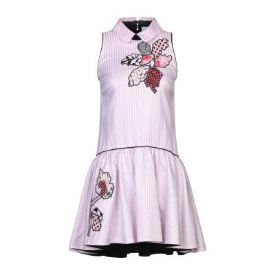 SI-JAY ミニワンピース&ドレス ピンク 38 コットン 100% ミニワンピース&ドレス