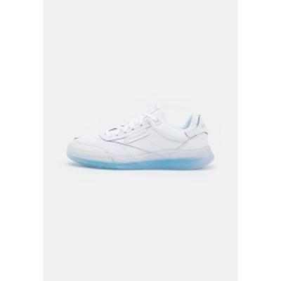 リーボック メンズ スニーカー シューズ CLUB C LEGACY UNISEX - Trainers - footwear white/blue/radiant aqua footwear white/blue/rad