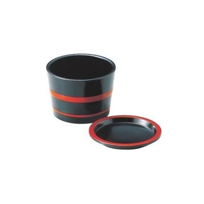 つゆ入 3.1寸桶型つゆ入黒朱ひもセット 高さ70 直径:93/業務用/新品