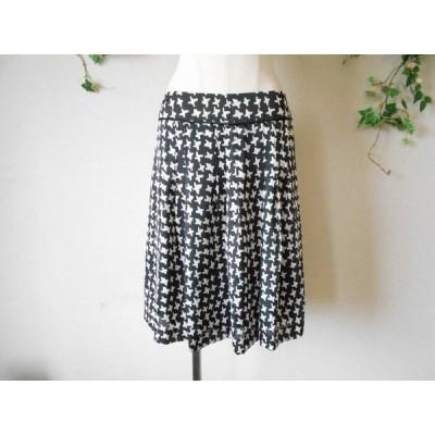 自由区 オンワード樫山 素敵 な 膝丈 スカート 40