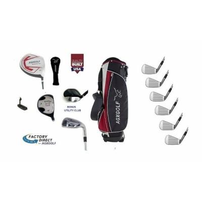 ゴルフクラブ AGXGOLF Senior Tall +1.5 Inch Mens AGXGOLF Complete Golf Set Graphit