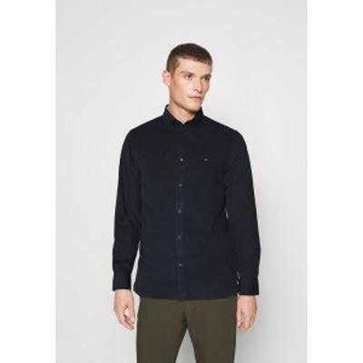 トミー ヒルフィガー メンズ シャツ トップス FLEX - Shirt - blue blue