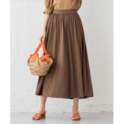 【吸水速乾・UVカット】ドライハイゲージ天竺 スカート