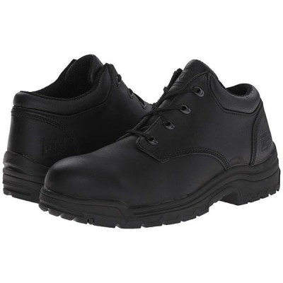 ティンバーランド TiTAN Oxford Alloy Safety Toe Low メンズ オックスフォード Black Smooth Full-Grain Leather