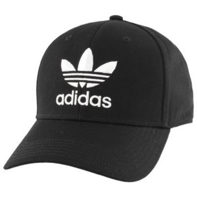 アディダス メンズ 帽子 アクセサリー adidas Originals Trefoil Precurve Adjustable Cap Black
