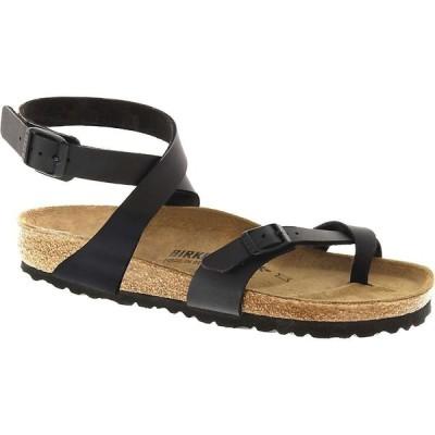 ビルケンシュトック Birkenstock USA レディース サンダル・ミュール シューズ・靴 Birkenstock Yara Sandal Black Birko-Flor