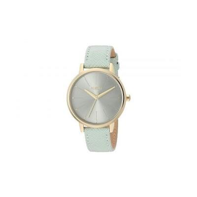 Nixon ニクソン レディース 女性用 腕時計 ウォッチ ファッション時計 Kensington Leather - Light Gold/Agave
