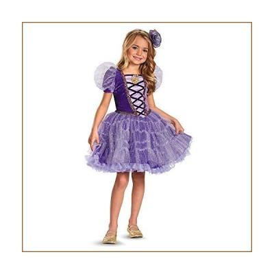 Disguise Disney's Tangled Rapunzel Tutu Prestige Girls Costume, 4-6X【並行輸入品】
