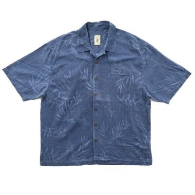 JAMAICA JAXX シルク アロハシャツ 開襟 サイズ表記:XL