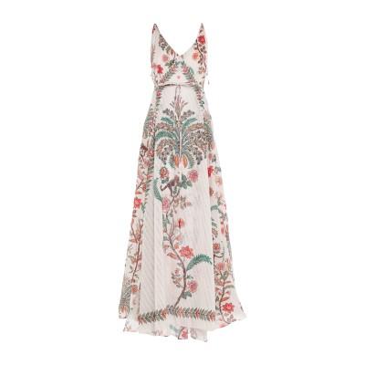 PIN UP STARS ロングワンピース&ドレス ホワイト S コットン 55% / レーヨン 45% ロングワンピース&ドレス