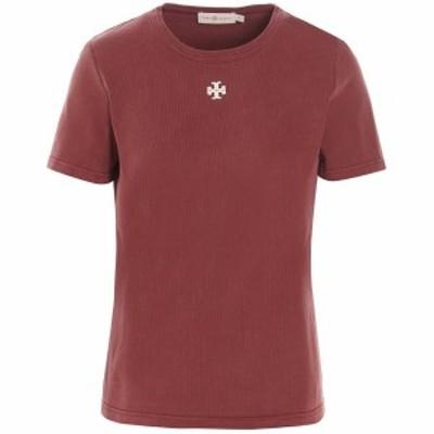 TORY BURCH/トリー バーチ Red Logo patch t-shirt レディース 秋冬2021 82668630 ju