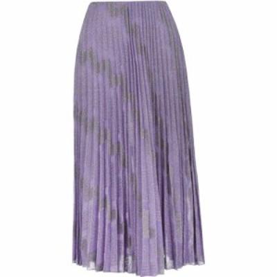 ミッソーニ M MISSONI レディース ひざ丈スカート スカート midi skirt Purple LH
