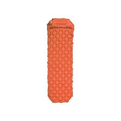 エアーマット キャンプマット ハンドポンプ付き 枕付き 折畳み式 超軽量 40Dナイロン+TPU生地 防水防潮 車中泊 テント泊 防災 キャ