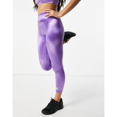 ヒート HIIT レディース スパッツ・レギンス インナー・下着 High Shine Leggings In Purple
