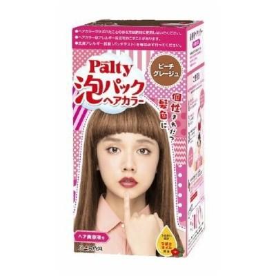【医薬部外品】ダリヤ パルティ 泡パックヘアカラー ピーチグレージュ ( 1セット ) <くるくる混ぜて手でぬるだけ、楽しく簡単なヘアカラー>