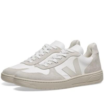ヴェジャ Veja メンズ スニーカー シューズ・靴 v-12 mesh sneaker White/Natural