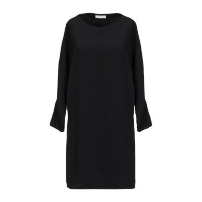 ANNIE P. ミニワンピース&ドレス ブラック 42 ポリエステル 100% ミニワンピース&ドレス