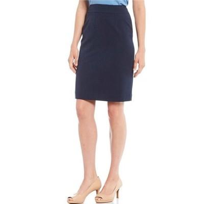 アレックスマリー レディース スカート ボトムス Silvia Twill Machine Washable Suiting Pencil Skirt