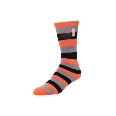 スポーツ ファン ウェア レプリカ ユニフォーム 応援 バスケットボール NBA フォーベアフィート NBA Logo Womens Melon Pro Stripe Socks