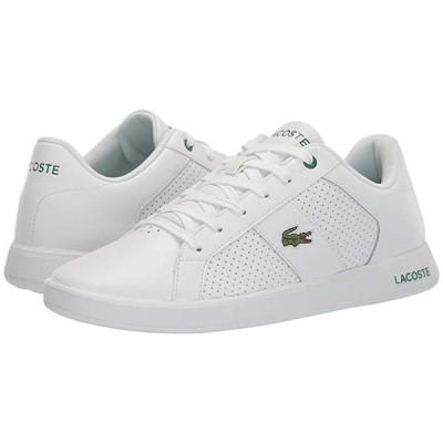 ラコステ Novas 120 1 P メンズ スニーカー 靴 シューズ White/Green