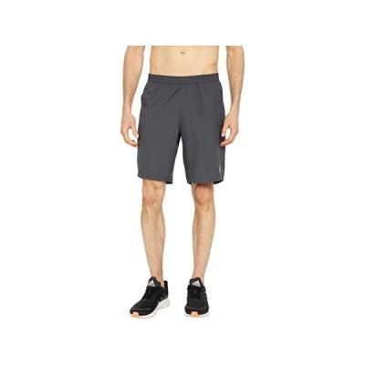 (取寄)アディダス ラン イット 9 ショーツ adidas Run It 9 Shorts Dark Grey Heather/Solid Grey