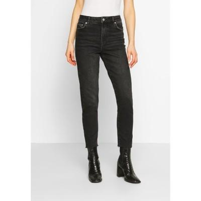 ピーシーズ デニムパンツ レディース ボトムス PCNIMA - Straight leg jeans - black denim