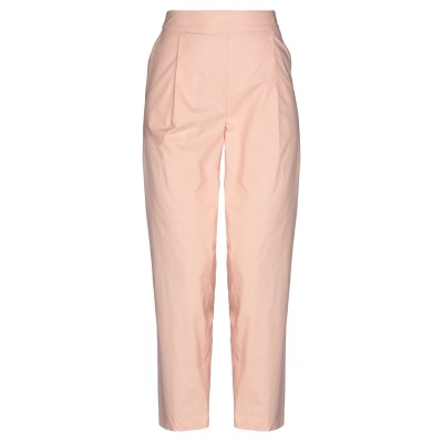 セミクチュール SEMICOUTURE パンツ ピンク 40 コットン 100% パンツ