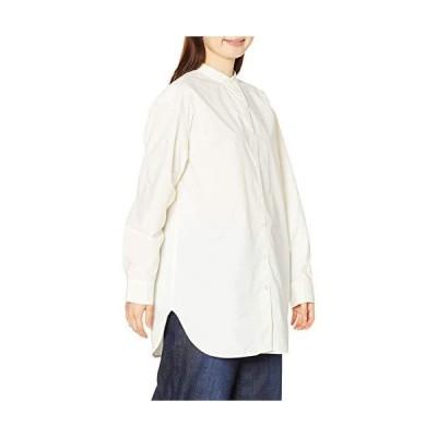 [エーグル] シャツ [公式] コーデュラ ノーカラーシャツチュニック レディース ZCF010J ホワイト 日本 038 (日本サ?