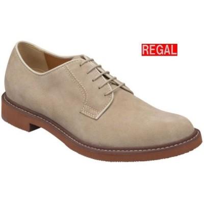 リーガル REGAL 靴 メンズ カジュアル オックスフォードシューズ 51MR ベージュスエード