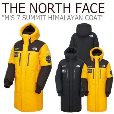 ノースフェイス ダウン THE NORTH FACE M'S 7 SUMMIT HIMALAYAN COAT セブンサミット ヒマラヤン コート ゴールド イエロー NC1DK71A/B 新品未使用 新古品
