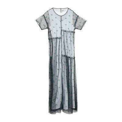 パロッシュ P.A.R.O.S.H. ロングワンピース&ドレス ダークブルー S ポリエステル 100% ロングワンピース&ドレス