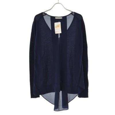 ZARA / ザラ 切替 長袖ニットセーター