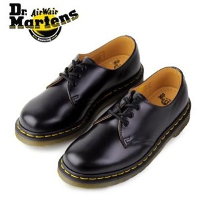 ドクターマーチン Dr.Martens 1461 3EYE GIBSON SHOE BLACK SMOOTH 10085001 3ホール レディース メンズ