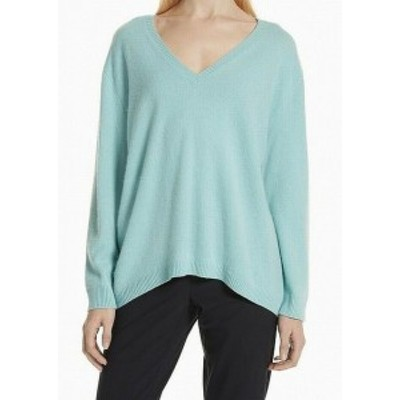 Nordstrom ノードストローム ファッション トップス Nordstrom Signature Womens Blue Size XS V-Neck Cashmere Sweater