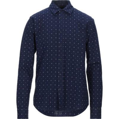 スコッチ&ソーダ SCOTCH & SODA メンズ シャツ トップス patterned shirt Dark blue
