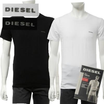 ディーゼル Tシャツアンダーウェア 半袖 丸首 クルーネック メンズ 00CG24 0BAHF DIESEL