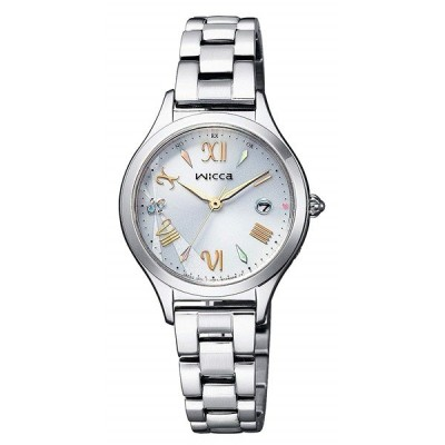 CITIZEN WICCA シチズン ウィッカ 限定モデル ソーラーテック電波時計 レディース腕時計 KS1-210-11