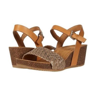 Comfortiva コンフォーティヴァ レディース 女性用 シューズ 靴 ヒール Eshana - Gold/Luggage Fleshout Foil/M-Vege